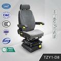 Función ajustable de suspensión neumática conductor del camión asientos TZY1-D8