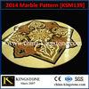 KSM139 Waterjet marble tile floor medallions