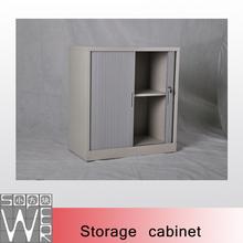 metal lockable roller shutter storage cabinets
