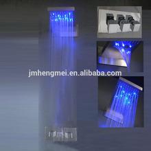 dual rain and waterfall shower set 230*554*30mm shower dual rain and waterfall shower set