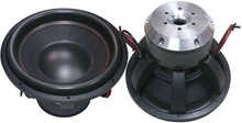 Big power RMS 1500w 15 inch car subwoofer with die cast aluminum