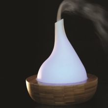 MN201302 Bamboo and Glass Aromatherapy Diffuser