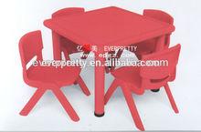 Kids plastic outdoor furniture, kids plastic desk and chair, Children plastic furniture