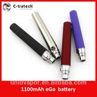 alibaba china 3.7v lipo e-cigarette battery ego 1100mah replacement battery for e-cigarette
