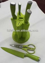 best 6pcs kitchen scissors stainless steel knife set