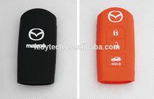 Mazda Silicon Key Case Key Shell Key Holder Chain For MAZDA CX-5 CX5 2012 2013 mazda silicone key pad