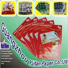 QingBo brand Self Adhesive Paper , Sticker photo paper135g