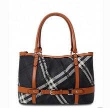 classic women handbag fashion pu leather handle lady handbag manufacturer