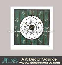 Decorative antique metal Wall Clock