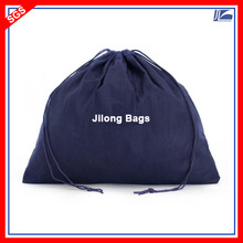 Custom Organic Cotton Drawstring Bags Dust Bag For Handbag