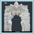 Hand Carved Antique Natural White Marble Door Thresholds For Sale