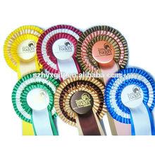 Fancy Factory Handmade Triple Layer Horse Race Award Ribbon Rosette Badge,Horse Sport Flower Ribbon Rosette,Profession Supplier