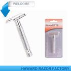 D647 Metal handle double edge blade top design safety razor
