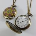 wn001 projetos mistos retro atacado moda jóias grossistas relógio de bolso de lotes vintage pingente relógio concha colar de wat