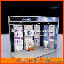 Shanghai Manufacturer custom fashion exhibition display tradeshow display booth