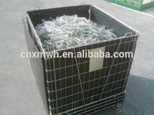 Foldable PET PREFORM bottle storage cage
