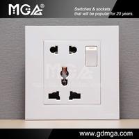 MGA european socket and switch&universal wall socket