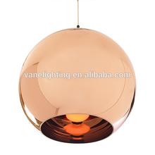 Modern Designer Tom Dixon Copper Shade Pendant Lamp