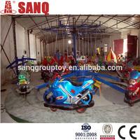 2015most Popular Kiddie Game Amusement Park Motor Racing Rides/Amusement Park Rotary Motor Rides