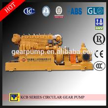 KCB oil transfer gear pump, diesel driven pump transporting high flow liquid