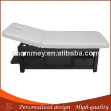 wood massage bed teak wooden table reclining beauty chair