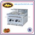 Aço inox fritadeira profunda/kfc gás chip fritadeiras/gás máquina de fritura