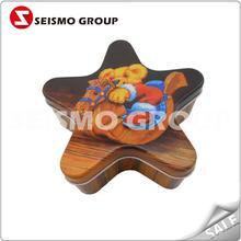 decorative tin boxes round shape tin