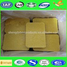 High purity natural yellow beeswax block