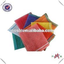 hot selling high quality red acrylic mesh netting material bag drawstring