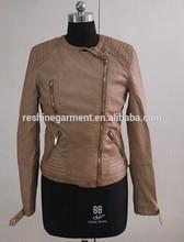 Mulheres mais quentes jaqueta de couro