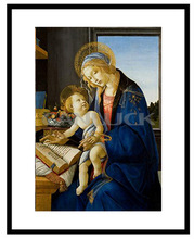Famous Picture Art Paintings/ The Virgin And The Child/ Eco-friendly Classical Oil Paintings