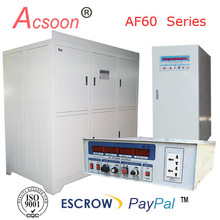 500VA to 2000KVA variable programmable ac power supply