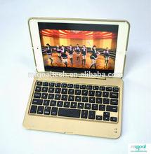 Arabic wireless keyboard case for ipad Golden keyboard case for iPad mini M19S