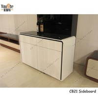 white high gloss buffet used bed sideboard