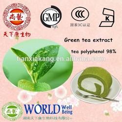 Supplier Natural Green Tea Extract Polyphenols 20%,80%,98%/green tea extract export/green tea extract export