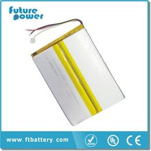 3.7v 12000mah li ion rechargeable battery 3.7v with pins