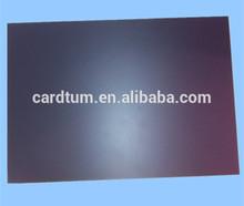 black rigid matt PVC sheet
