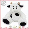 les plus populaires de qualité supérieure personnalisécarte vache mignonne jouet en peluche