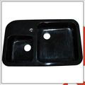 Shanxi granito preto pia da cozinha