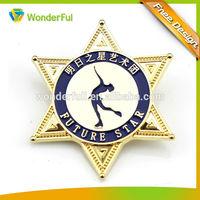 2014wholesales Custom Fashion Antique Imitation badge lapel pins maker
