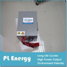 solar energy storage lifepo4 12V 200Ah lithium ion battery