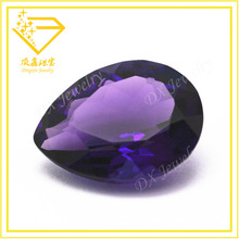 natural gemstone hot sale pear cut rough stone amethyst made in China