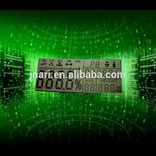 Transmissive fuel dispenser segment lcd
