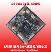 1/4 800TVL aptina coms 139+8510 CCTV pcb board