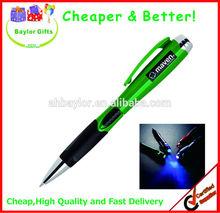 2 in 1 light pen Highlight pen plastic led Light Pen