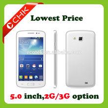 Shenzhen China supplier 5inch brand cell phones p600