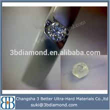 white diamond stone for diamond ring