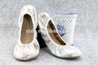 popular new stylish wholesale China factory cheap ladies ballerina shoes 2014