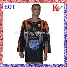 custom team wear hot sale sublimation jersey hockey