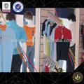 Mode klassischen männer bekleidungsgeschäft Innenarchitektur display-regale t- shirt mit ständer